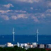 Industrial Wind Turbines, Copenhagen