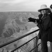 The Photographer, Really! (Photo by Jamie Lewis at the Grand Canyon)